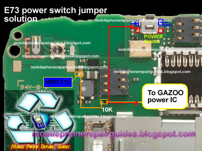 nokia e73 mode power switch jumper ways