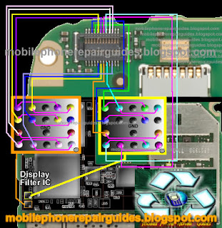 Nokia E73 Display Problem Solution - Filter IC Jumper Ways ~ Mobile