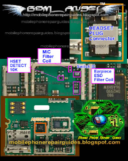 Nokia 5230 Headset  Problem repair picture guide
