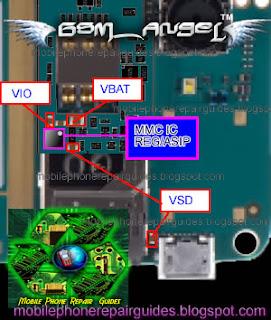 nokia e63 MMC not detected repair guide