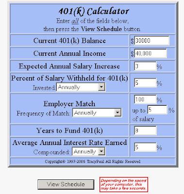 Retirement Calculator Drop Retirement Calculator