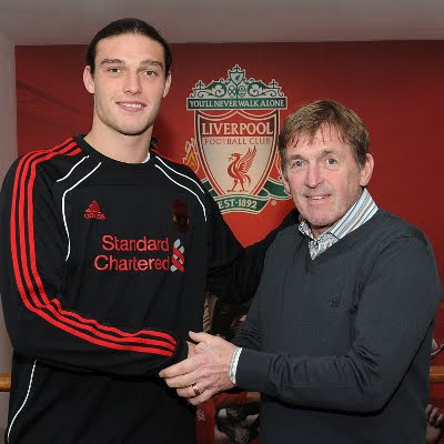 carroll and suarez. Suarez No.7. Andy Carroll the