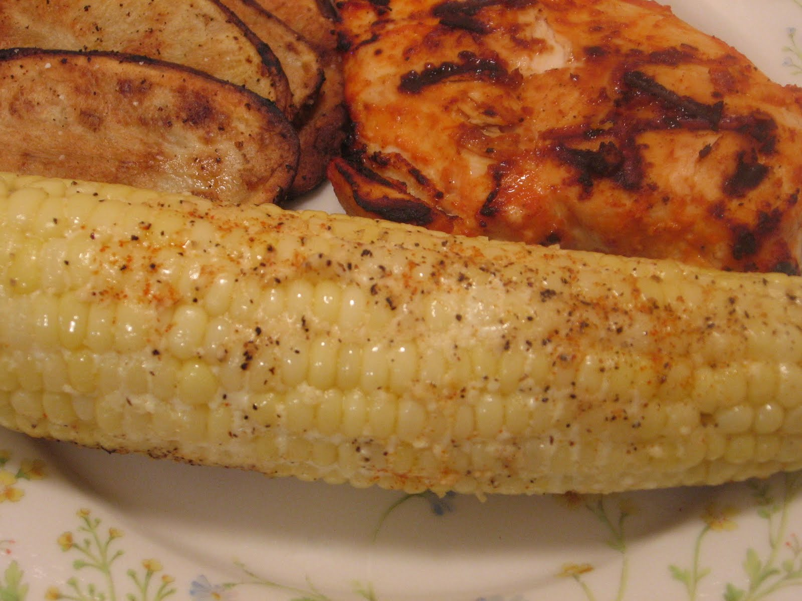 Jenn's Food Journey: Grilled Parmesan Corn on the Cob