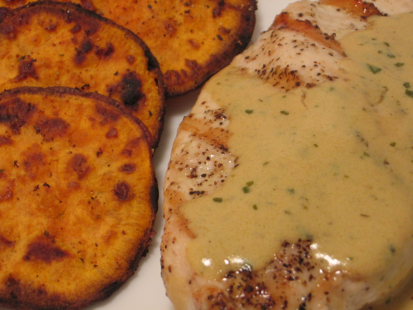 Jenn's Food Journey: Grilled Chicken with Mustard Tarragon ...
