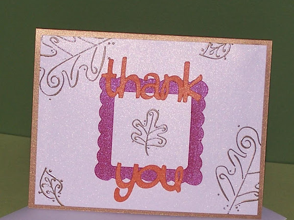 THANK YOU NOTE CARDS By Heidi