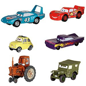 Disney Cars - 6 piece car set