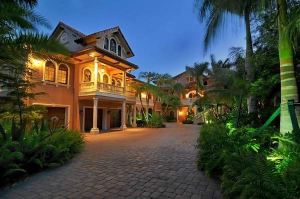 Sarasota waterfront living florida multi million dollar for 7 million dollar homes for sale