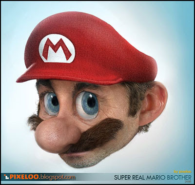 Super Real Mario Brother - Pixeloo