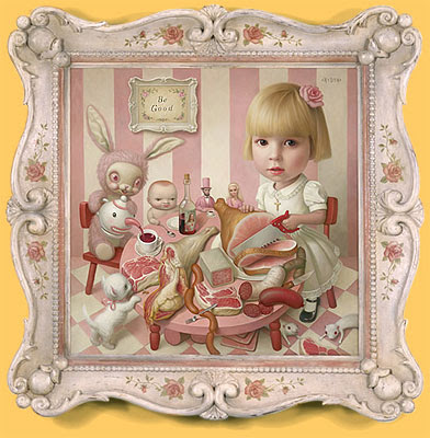 Rosie's Tea Party - Mark Ryden