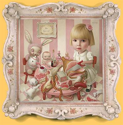 Rosie's Tea Party - Mark Ryden