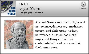 Grécia - Our Dumb World