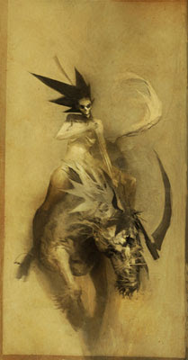 Morte - Ashley Wood [clique para ampliar]