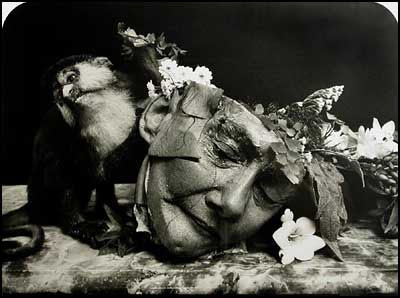 Face of a woman - Joel-Peter Witkin [clique para ampliar]