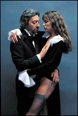 Helmut Newton - Serge Gainsbourg et Jane Birkin