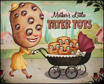 Noir Nouar - Mother's little tater tots