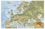 LOCALIZAR: HIDROGRAFÍA: Océanos y mares: Atlántico, Mar Mediterráneo, . europa fisico