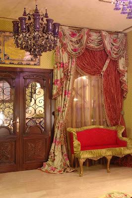 Burlesque gallery and interior design boudoir for Burlesque bedroom ideas