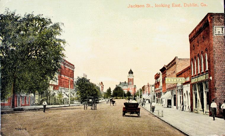 West Jackson St., Dublin, circa. 1908