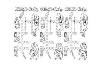 cruza+c ATIVIDADES COM A LETRA C para crianças