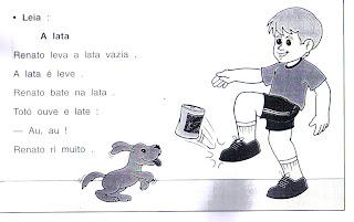 leitura7 CADERNO DE LEITURA para crianças