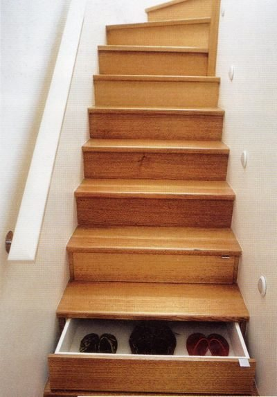Build and Optimize Staircase Drawers