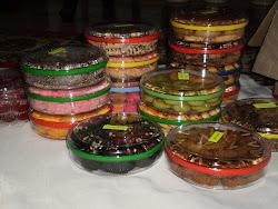 Koleksi biskut raya