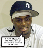 Plaxico is a dumbass