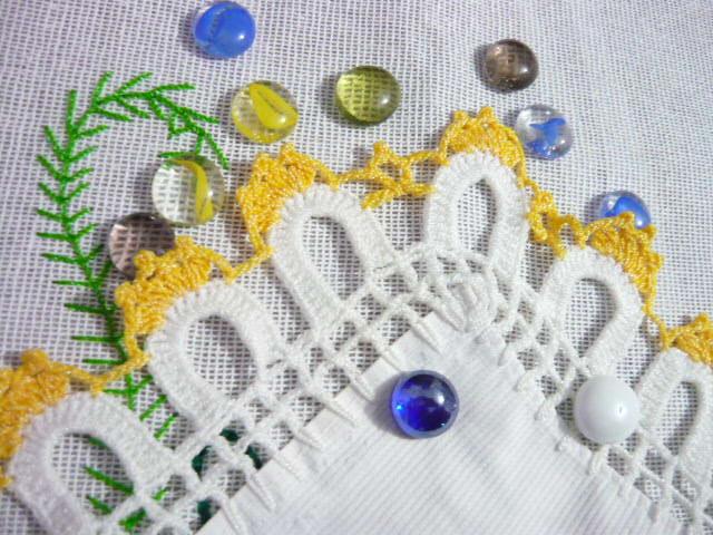 Crochet Orillas De Servilletas Con