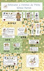 Etiquetas e Cartões de Visita- Eliana Ferret