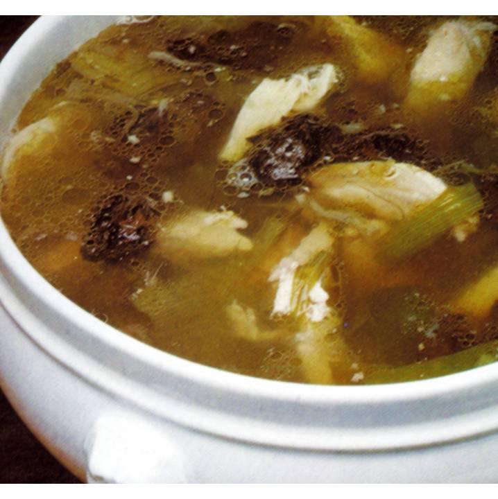 Recetas de cocina receta cocina sopa de ave con poros - Cocinar con olla express ...