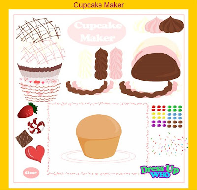 game cupcake maker