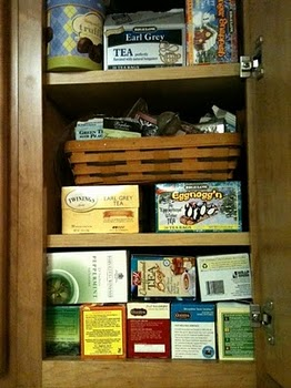 Donna-Marie's Tea Cabinet