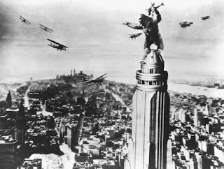 King Kong On Top of Empire State Building
