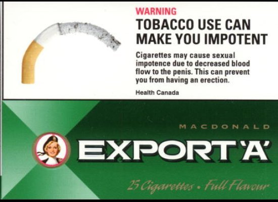 tobacco warning labels In its first action on so-called modified-risk tobacco products, the us  the  company wanted to remove mandatory, rotating warning labels on.