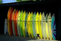 Surfboards in Hale'iwa