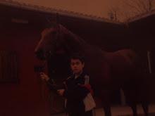 Yo de niño con el gran Wavy Run