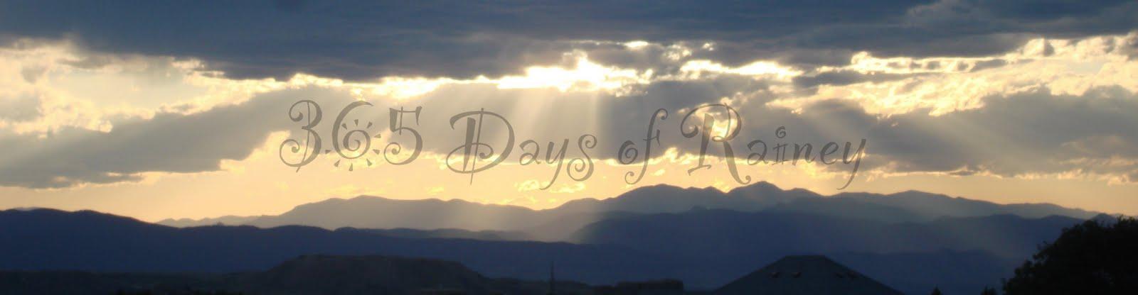 365 days of Rainey