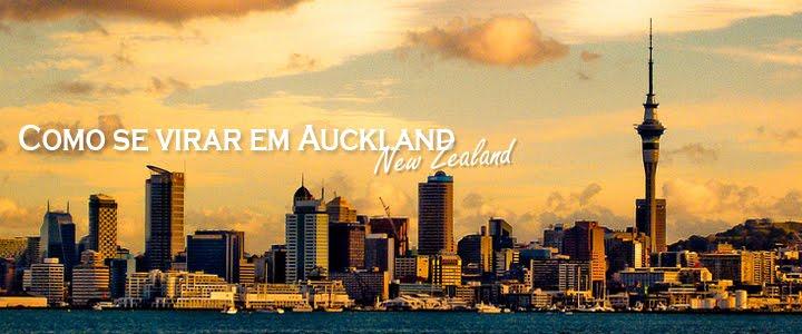 Como se virar em Auckland