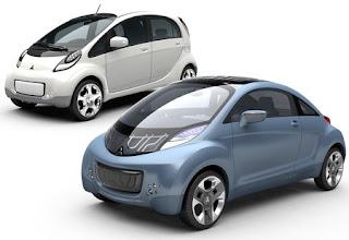 Electric car 2010 Mitsubishi i-MiEV
