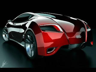 audi supercar concept WALLPAPPER