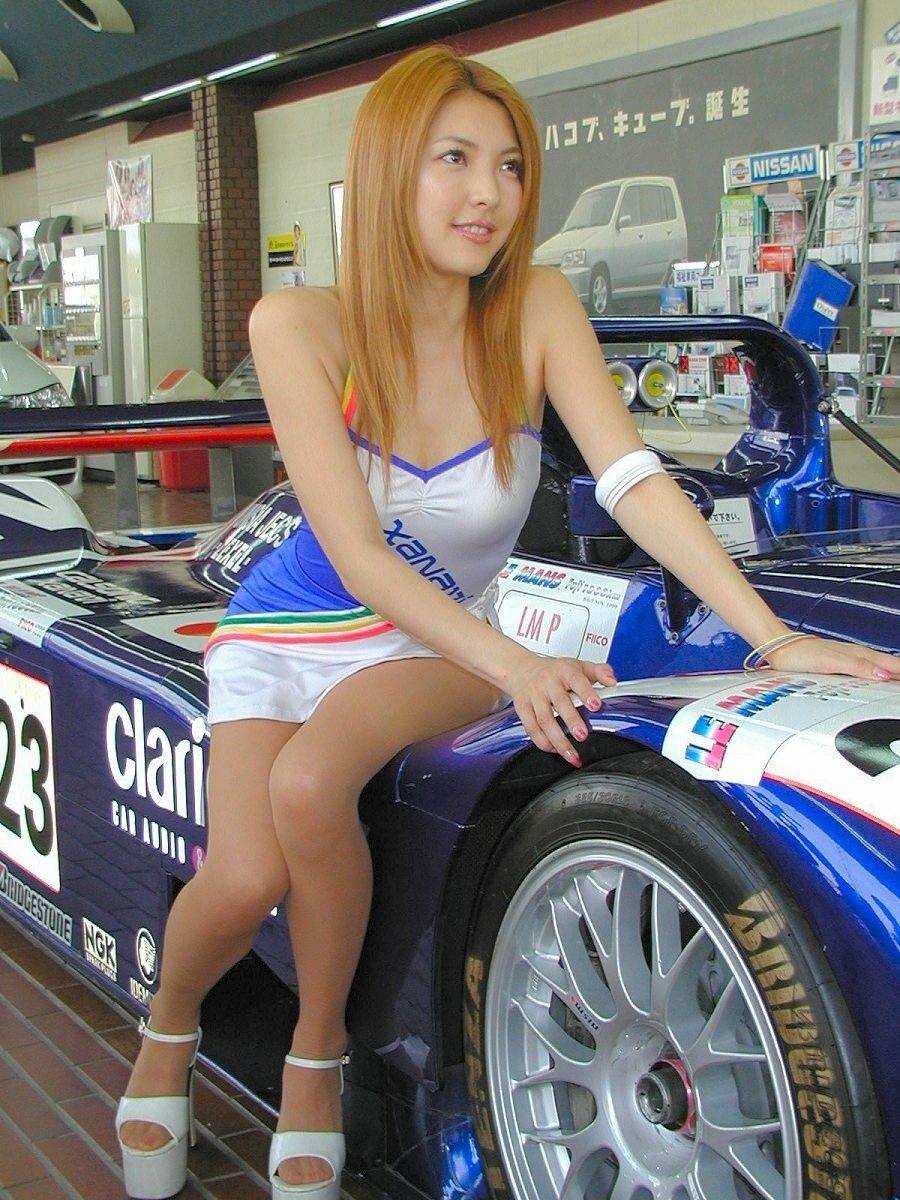 Car girl hot pic