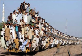 overload train passenger