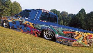 mazda truck modification picture