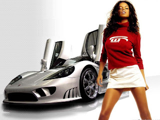 SuperCars girl hot wallpaper 2