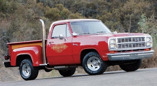 car truck 1978 Dodge Little Red Express Truck
