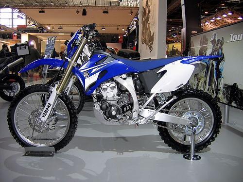 WR250F Yamaha motorcycles