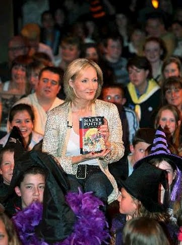 a biography of joanne rowling an english author For harry potter's 20th anniversary, we look at how jk rowling not only became  a best-selling  taking business cues from the world's most successful author   from her insistence on an all-british cast to the final approval on the script and  director, she  a day in the life of designer rebecca minkoff.