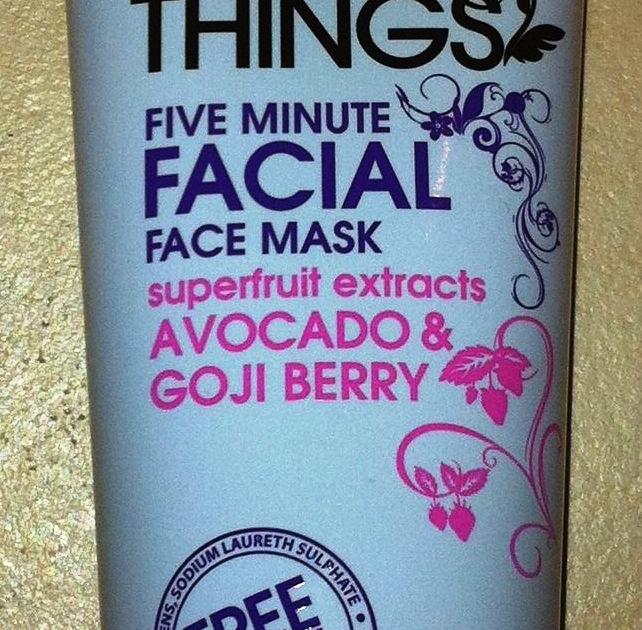 Five minute facial mask com