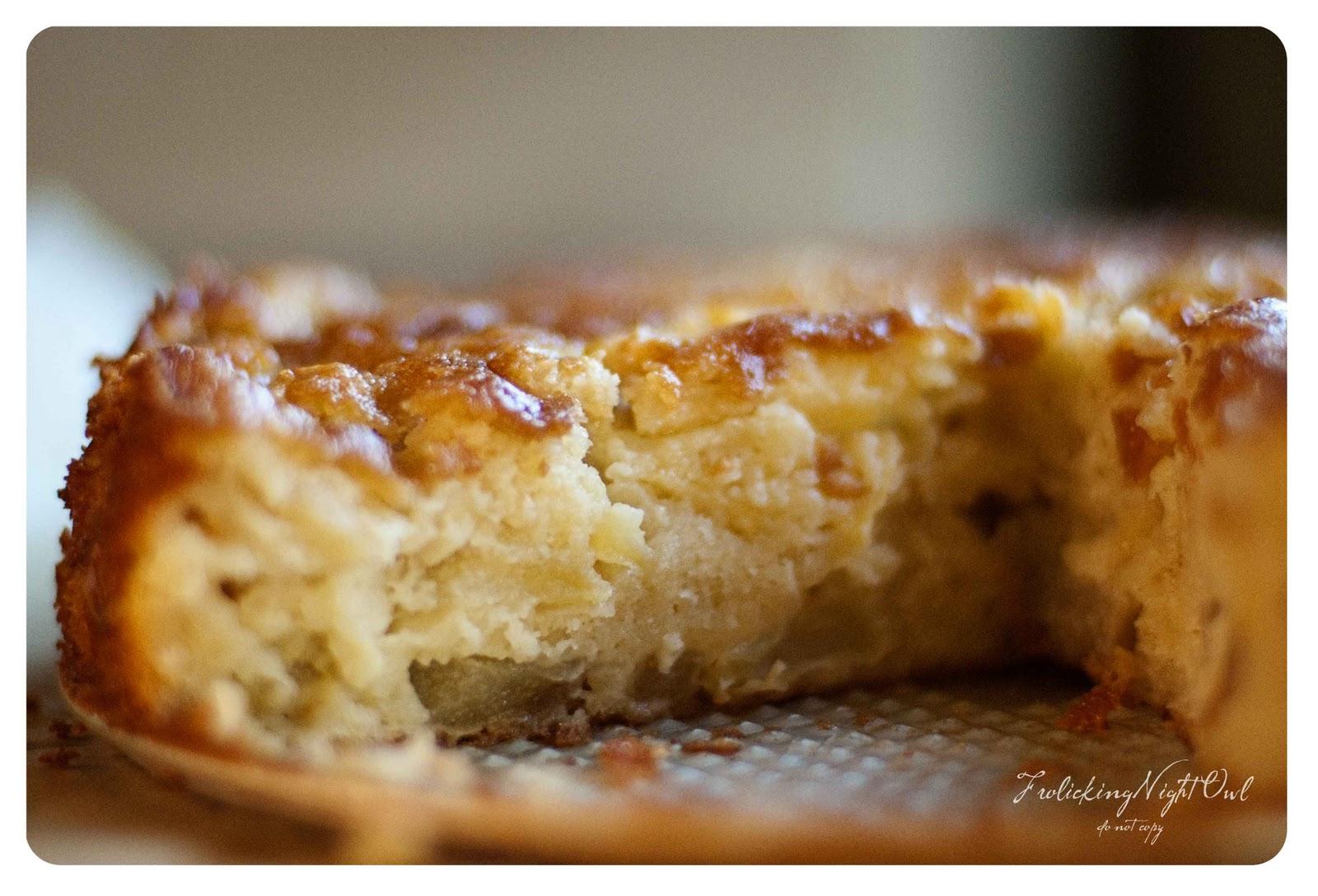 Apple Cake In A Springform Pan
