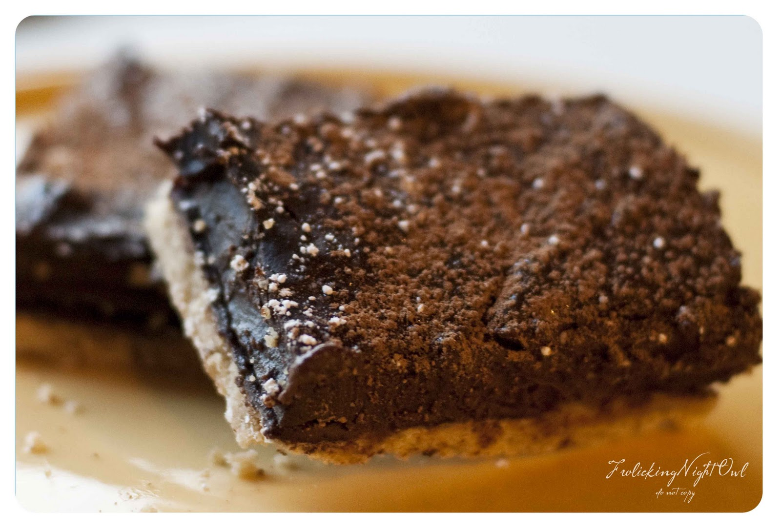 Frolicking Night Owl: Alice Medrich's Chocolate Pudding Bars